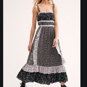Free People / Yesica Floral Maxi Dress Cottagecore